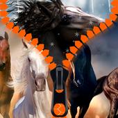 Horses Zipper Lock Screen 1.2