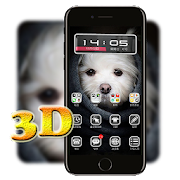 3D Ripple Cute Puppy Launcher Wallpaper Theme 1.1