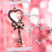 Pink Love Lock Theme Valentine 1.1.8