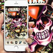 skull Street Graffiti theme 1.1.5