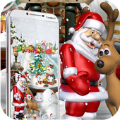 Merry Christmas Santa theme 3D 1.1.5