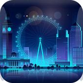 Ferris wheel theme london eye