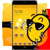 Mini Yellow Guys Cartoon Theme