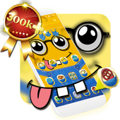 Yellow Cute Cartoon Theme 1.1.15