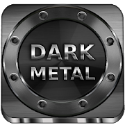 Dark Metal HD LauncherTheme 1.1.7