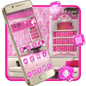 Pink Girl Room Theme 1.1.0