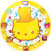 Yellow Sweet Lollipop Bowknot Theme 1.1.2