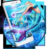 Blue Sea Mermaid Launcher Theme 1.1.0