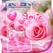 Beautiful Pink Rose Theme 1.1.8