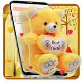Yellow Teddy Bear Launcher Theme 1.1.0