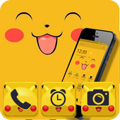 cute cartoon Pikachu Theme wallpaper Cartoon 1.1.2