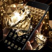 Gold Glitter Sparkling Diamond Theme 1.1.1