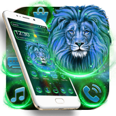 Neon Shiny Lion Theme 1.1.2