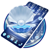 Blue Shell With Pearl Launcher 1.1.2