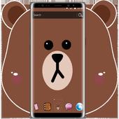 Brown Bear Cartoon Theme 1.1.1