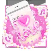Pink Love Balloons Theme 1.1.4