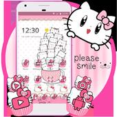 Princess Kitty Pink Cute Cartoon Theme 1.1.0