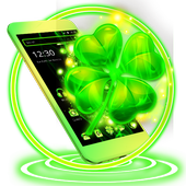 Green Black Clover Launcher Theme 1.1.1
