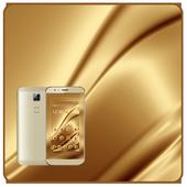 Gold silk luxurious theme