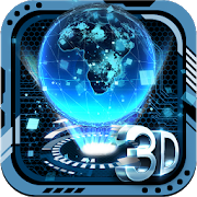 3D Tech Earth Theme 2.0.7