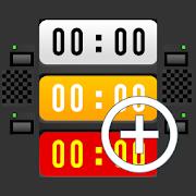 Multi Stopwatch & Timer  freeL.droidProductivity
