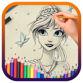 How to draw Elsa 2.0