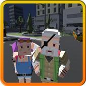 Pixel Hard Strike Survive 3d