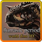 jurrasic period: world dino 3D 1.0