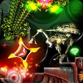 Retro Arcade Shoot'Em Up: Upside Dash