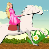White Horse Ride for Barbie 3.0