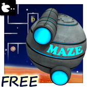 Maze game on time - space ship 1.0