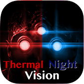 Thermal Night Vision Camera Effect Simulated 1.00