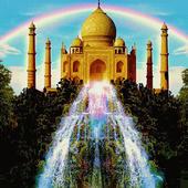 Fountain Taj Mahal LWP 1.1