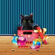 Kitten on Christmas Wallpaper 1.0.2