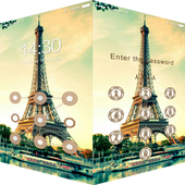 AppLock Theme Eiffel Tower 1.0.0