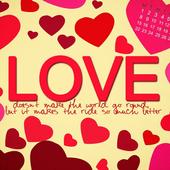 love message wallpaperDark cool wallpaper llcPersonalization