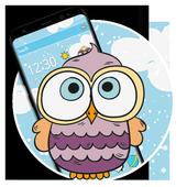 Lovely Owl Cartoon Theme 1.1.3