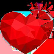 Love Polysphere Heart Poly Art 3D Puzzle 1.0