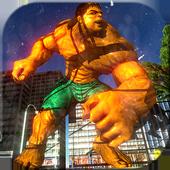 Monster super hero superhero city robots battle 3d 1.0