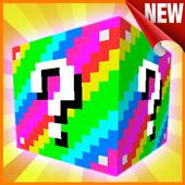 Lucky Block mod for MCPE 1.0
