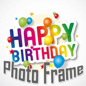Free Happy Birthday Poto Frame 1.0