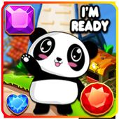 Panda Jewel Quests Match 3 1.1