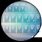 Keyboard Theme Glass Blur 9.1