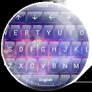 Keyboard Theme Glass Galaxy 16.0