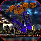 Flying Robot Hero Gangster : Grand City Runner 1.0
