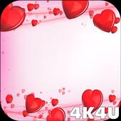 4K Love Hearts Minimalistic Live Wallpaper 1.2