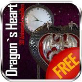 3D Dragon Heart Fantasy HD LWP 2.0