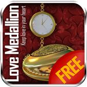 3D Love Romantic Medallion LWP 2.0
