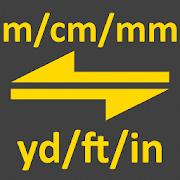 m, cm, mm to yard, feet, inch converter tool 2.0
