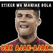 Stiker WA Bola Mania Meme Comic Lucu Terbaru 1.0